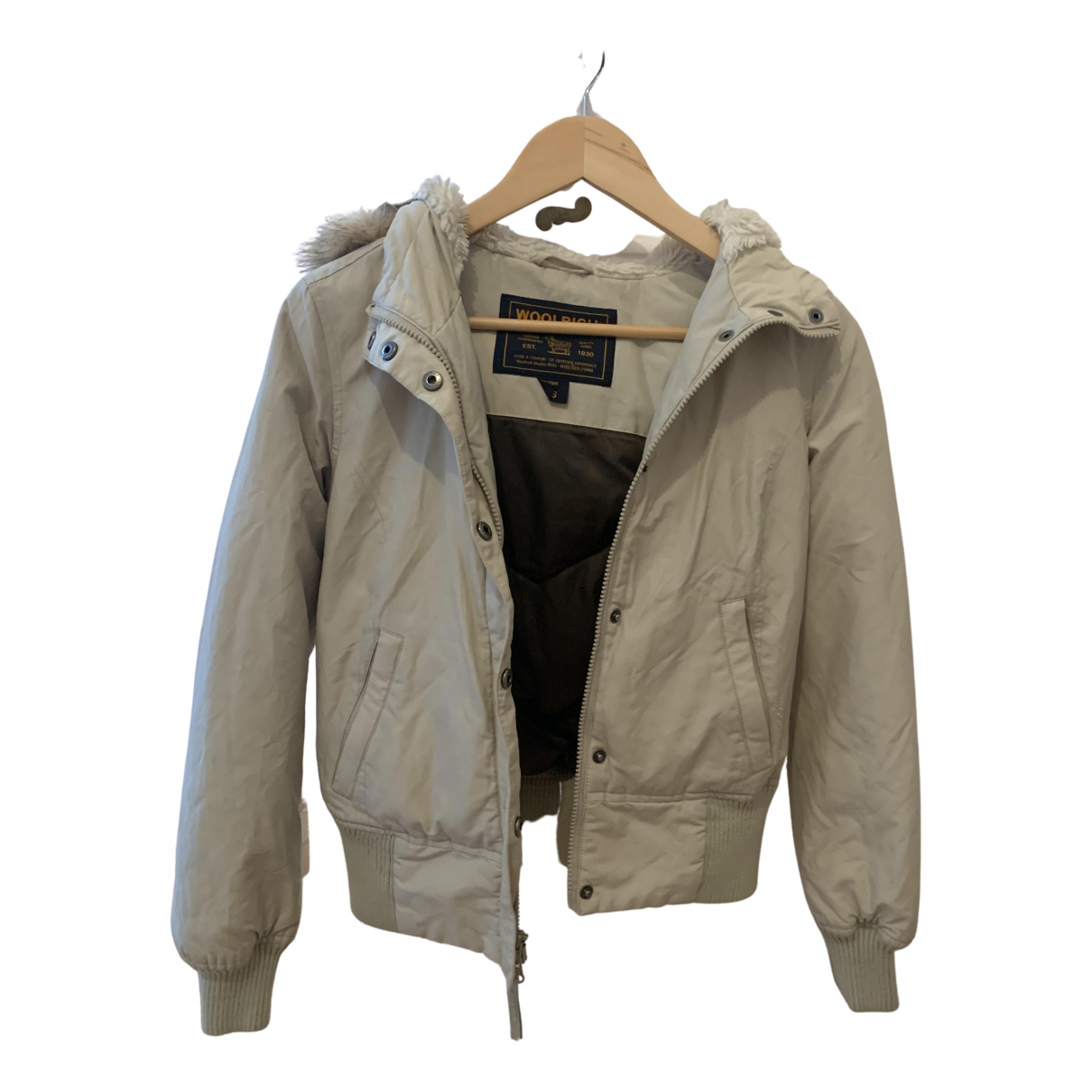 Woolrich N Beige Cotton jacket for Women XS International