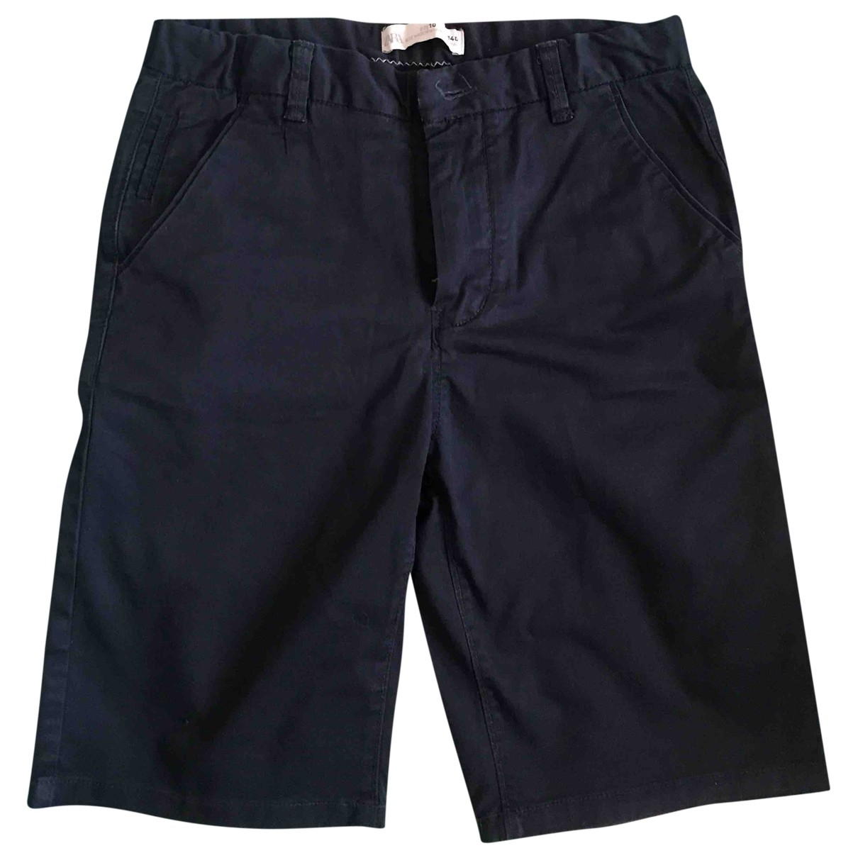 Zara - Short   pour enfant en coton - bleu