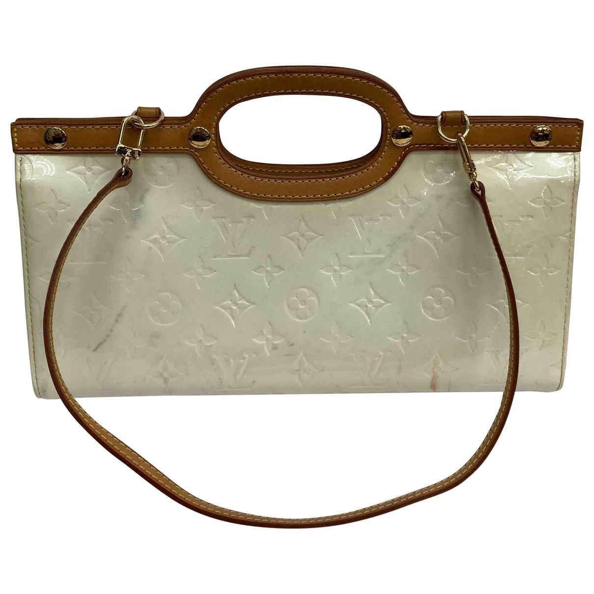 Louis Vuitton Roxbury Beige Patent leather handbag for Women \N