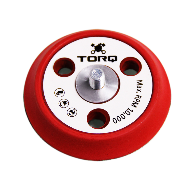 TORQ R5 Dual Action Backing Plate With Hyper Flex Technology - Chemical Guys