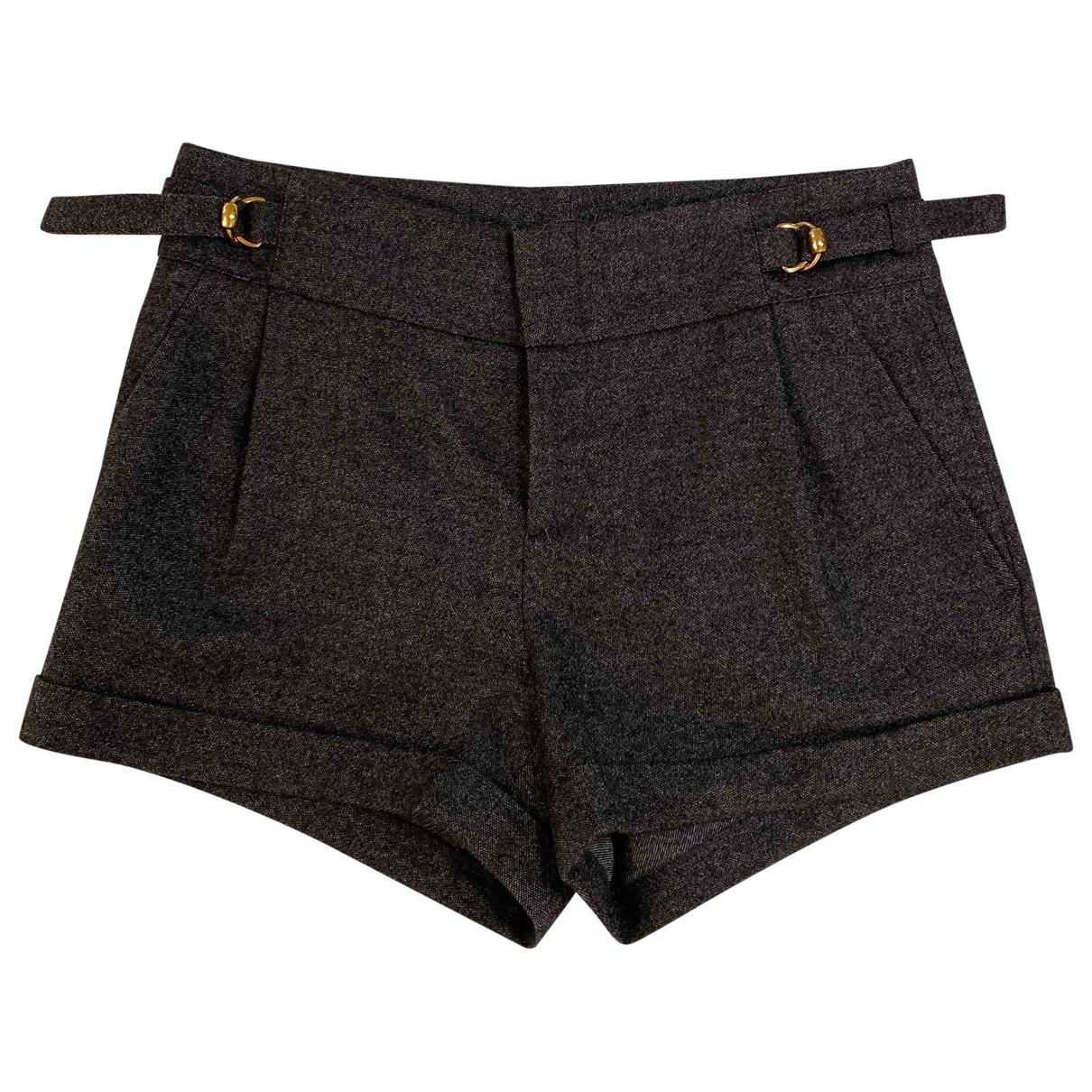 Gucci - Short   pour femme en laine - gris
