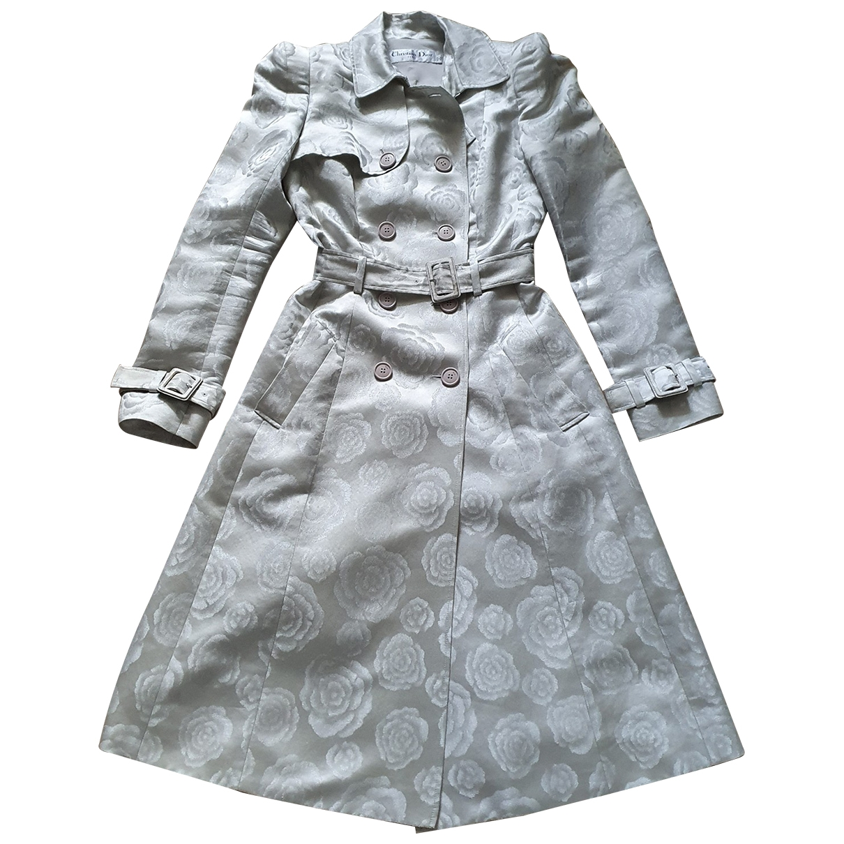Dior - Trench   pour femme en soie - multicolore