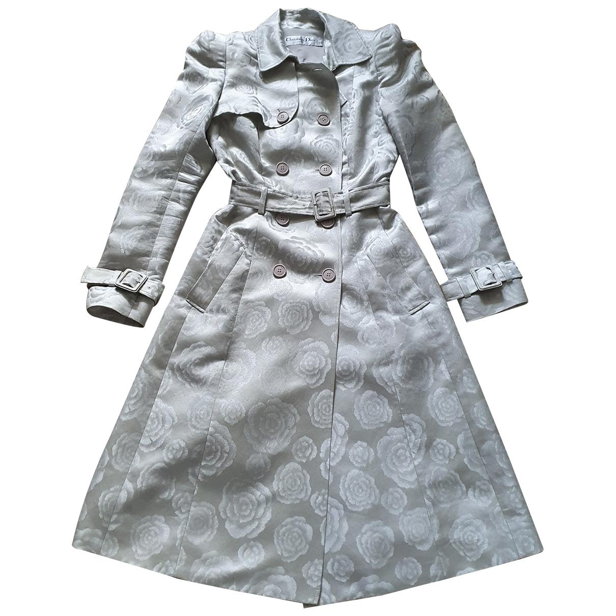 Gabardina de Seda Dior