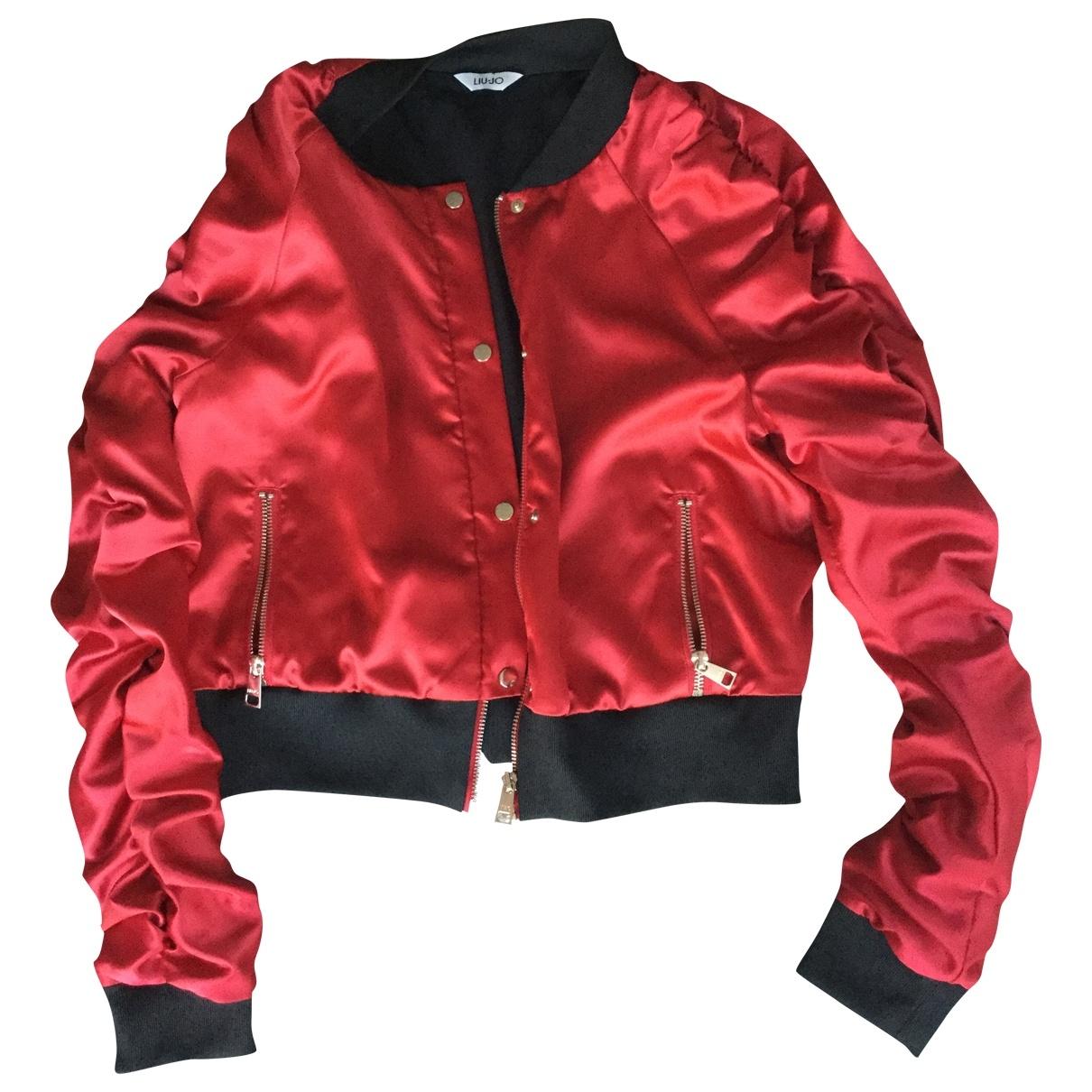 Liu.jo \N Jacke in  Rot Polyester