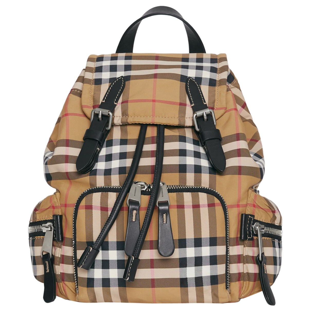 Burberry - Sac a dos The Rucksack pour femme en coton - multicolore