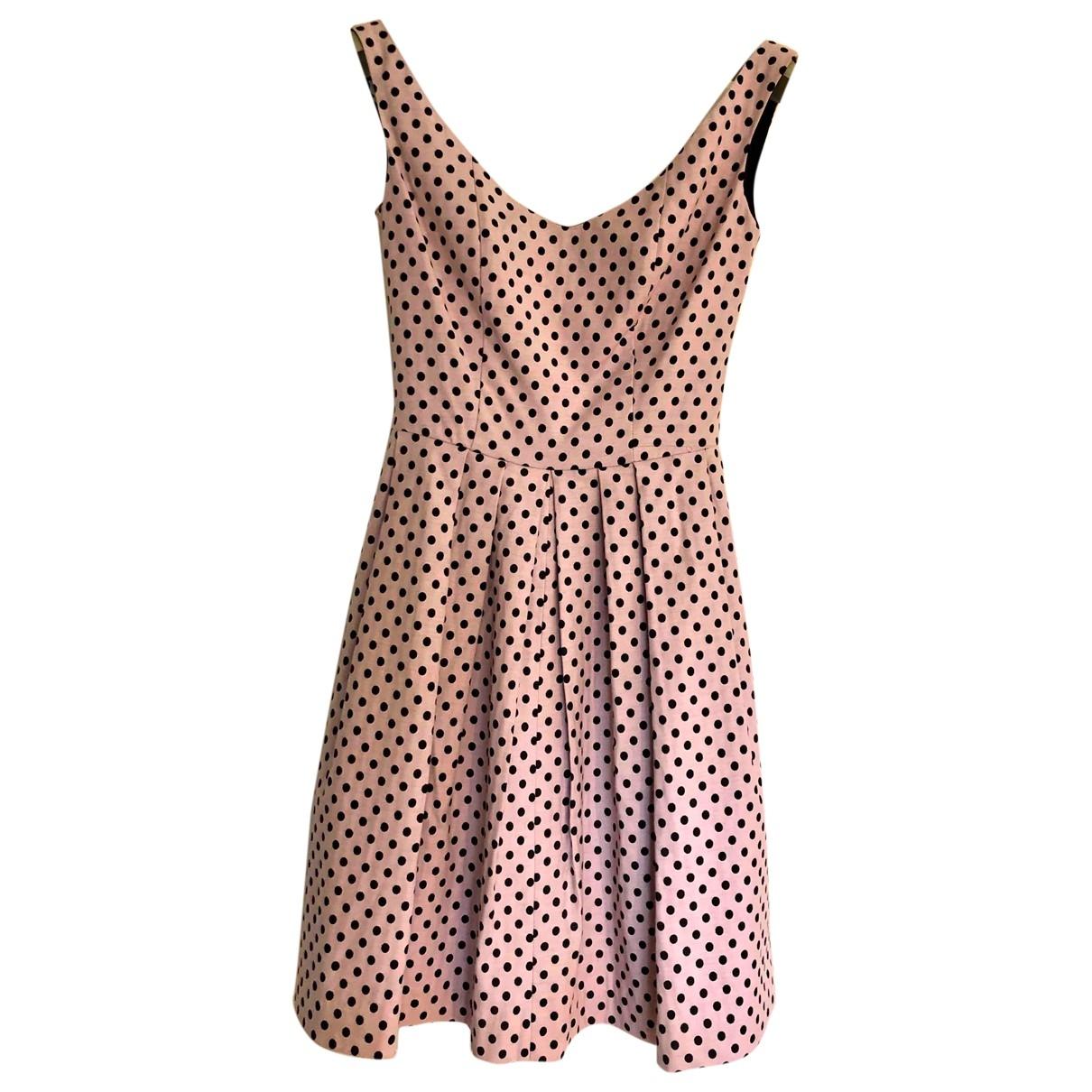 Pinko \N Kleid in  Rosa Baumwolle