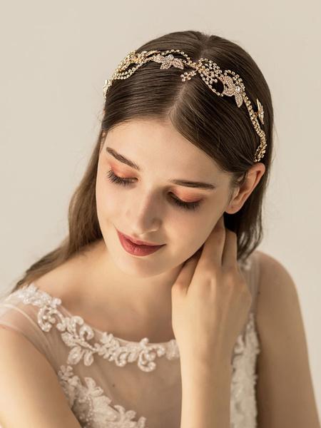 Milanoo Headpiece Wedding AccessoryHeadwear Metal Hair Accessories For Bride