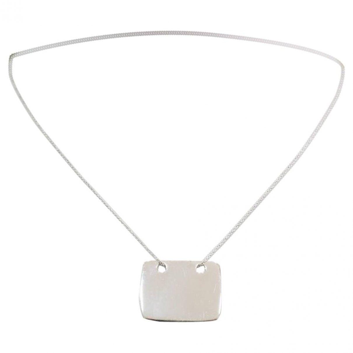 Ginette Ny \N Silver White gold necklace for Women \N
