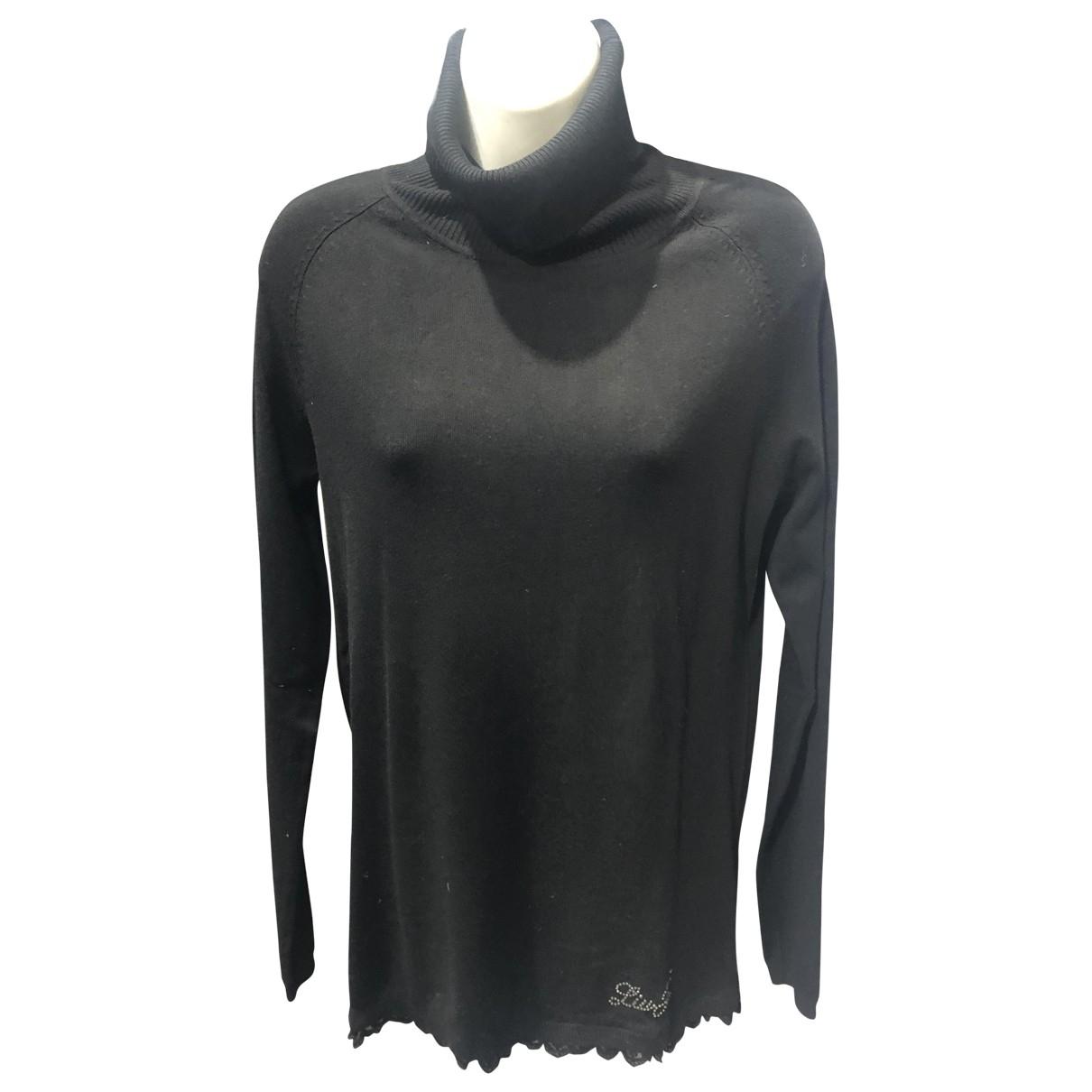 Liu.jo \N Black Wool Knitwear for Women 40 IT