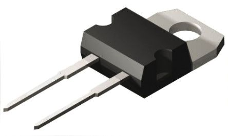 STMicroelectronics 650V 22A, SiC Schottky Diode, 2-Pin TO-220AC STPSC6H065DI