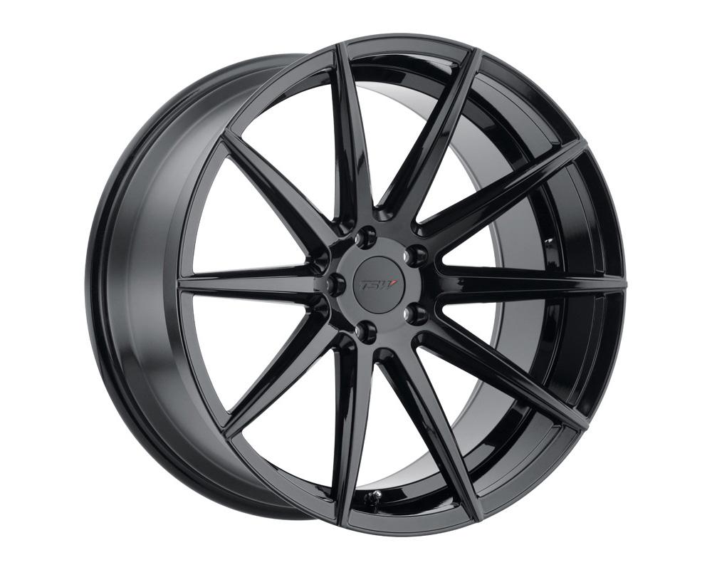 TSW Clypse Wheel 18x8.5 5x112 42mm Gloss Black