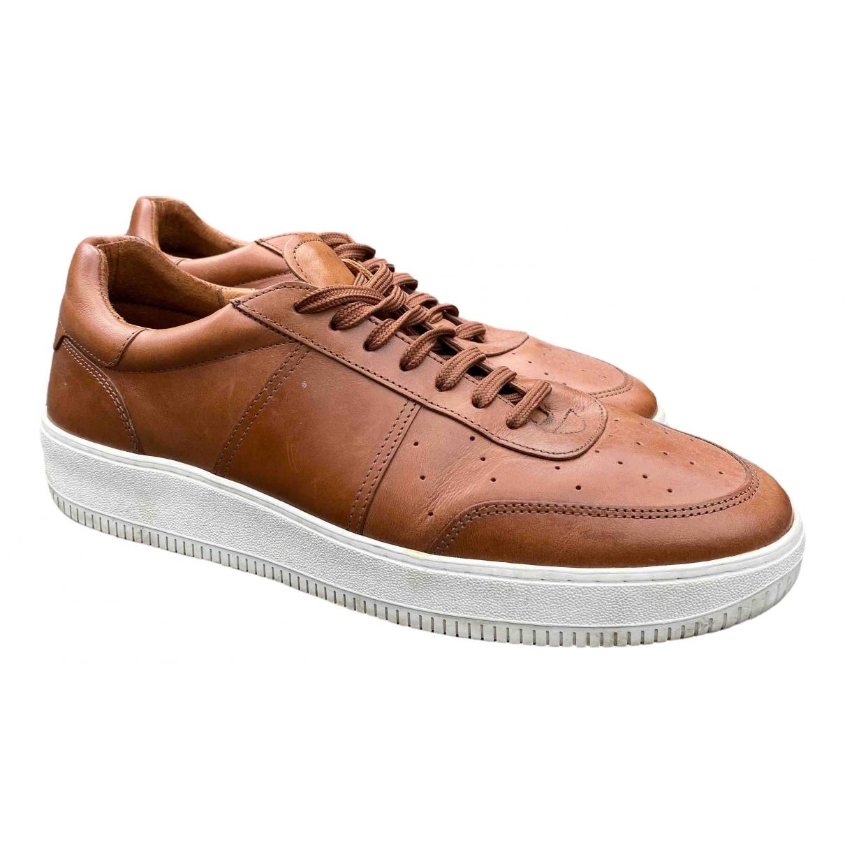 Sandro \N Sneakers in  Kamel Leder