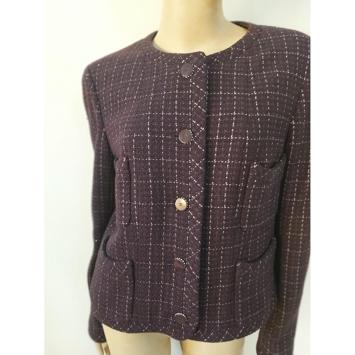 Chanel \N Multicolour Tweed jacket for Women 46 FR