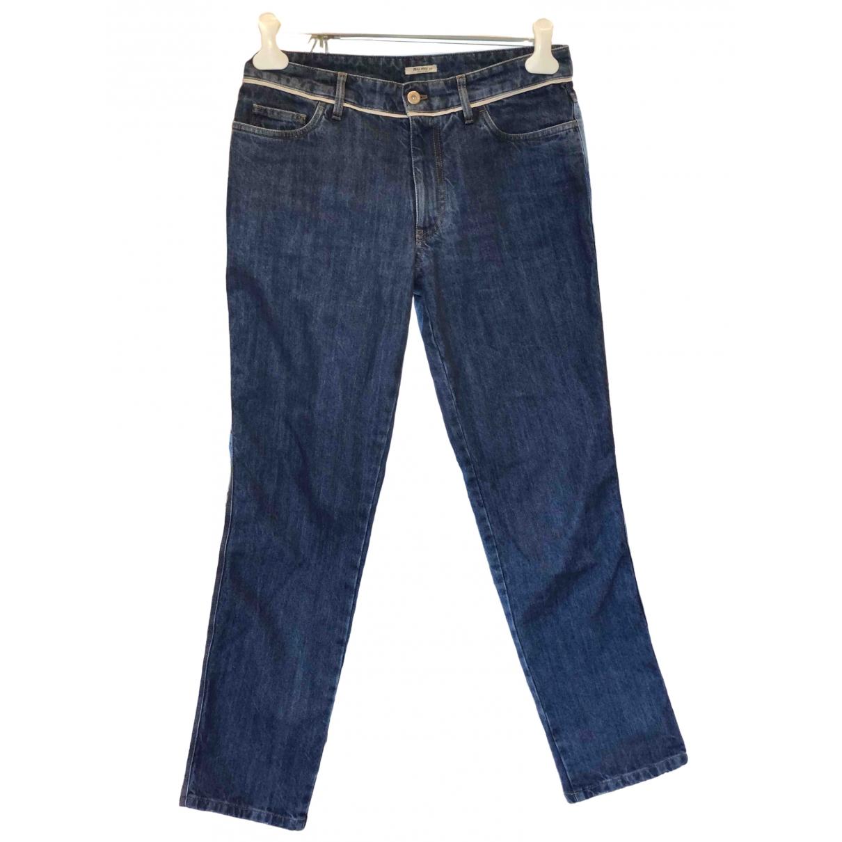 Miu Miu \N Denim - Jeans Jeans for Women 27 US