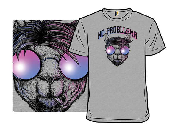 No Probllama T Shirt