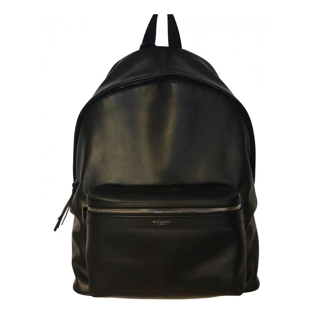 Bolso City Backpack de Cuero Saint Laurent