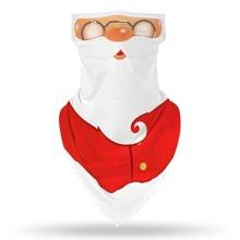 Maenner Sonnenschutz fuer Gesicht mit Weihnachten Muster