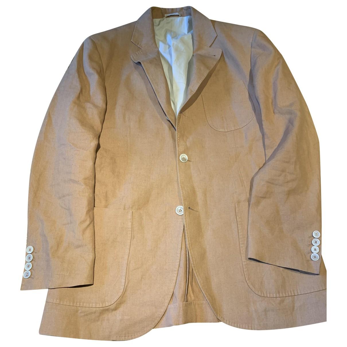 Brunello Cucinelli N Linen jacket  for Men 48 IT