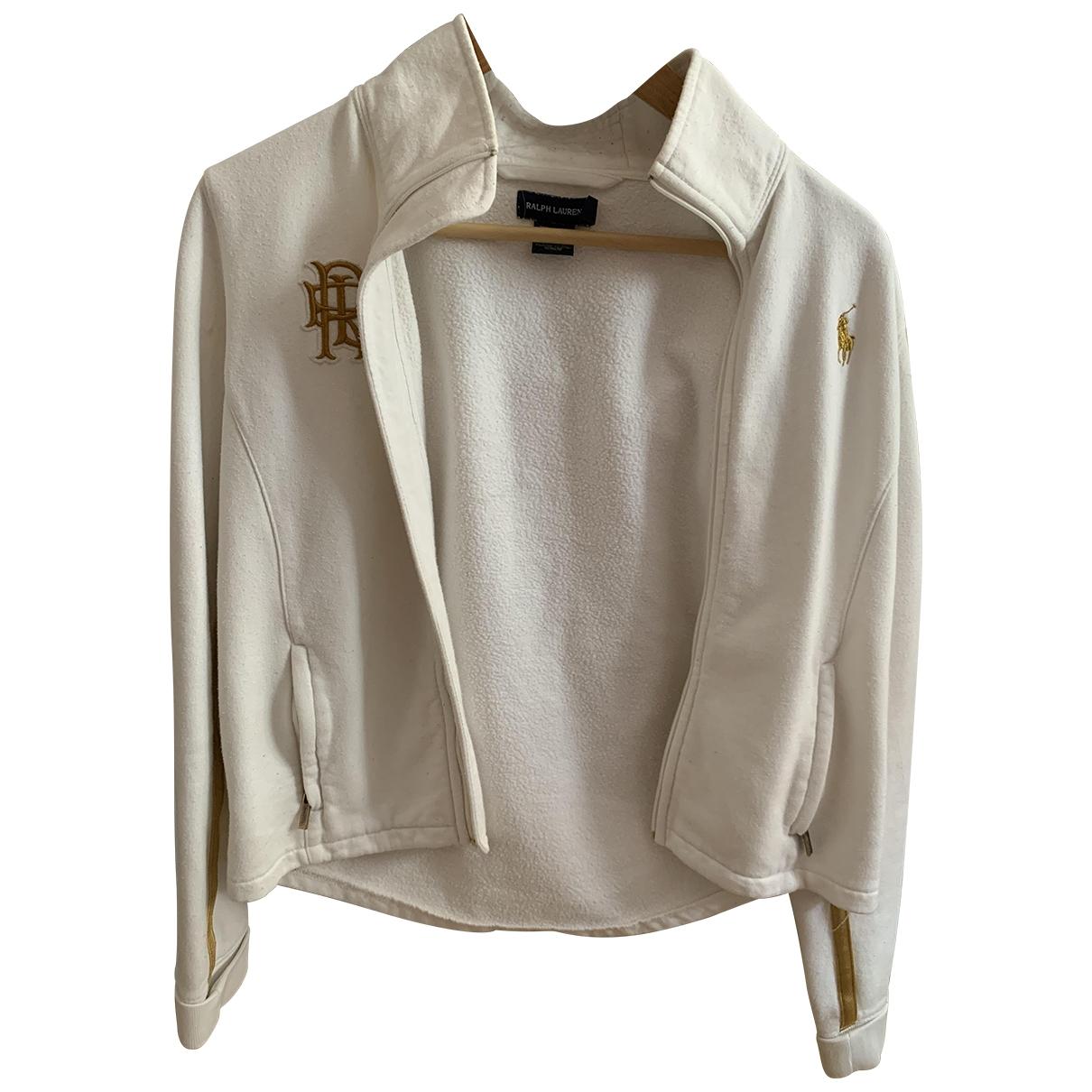 Ralph Lauren - Veste   pour femme en coton - blanc