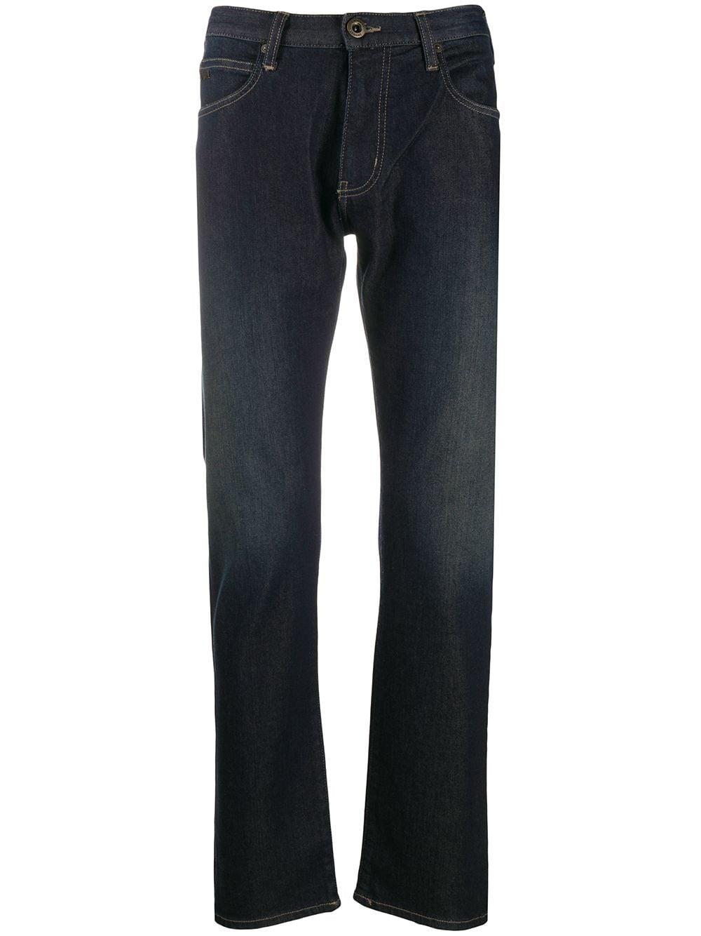 Flared Denim Jeans