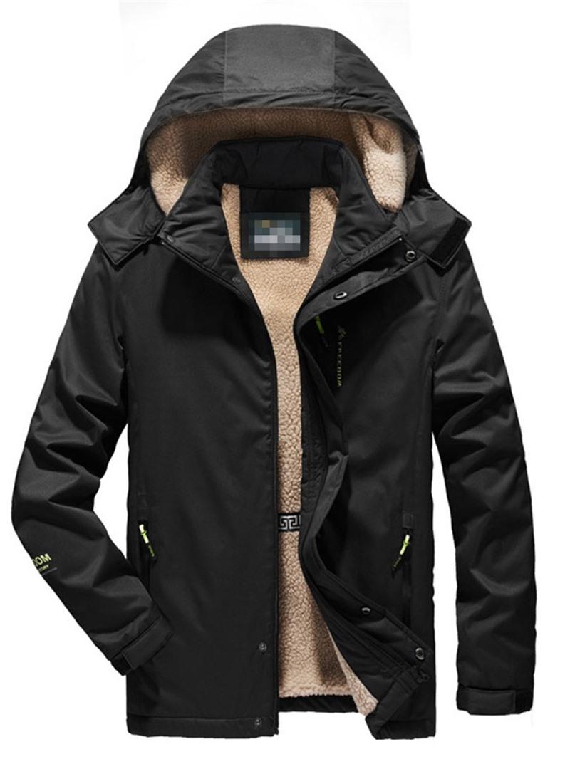 Ericdress Hooded Casual Men's Down Jacket
