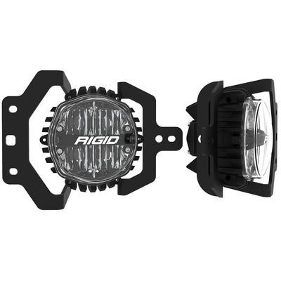 Rigid Industries 360-Series SAE Fog Light Kit (Yellow) - 37109