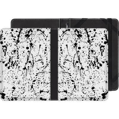 tolino page eBook Reader Huelle - Splatter Black von Amy Sia