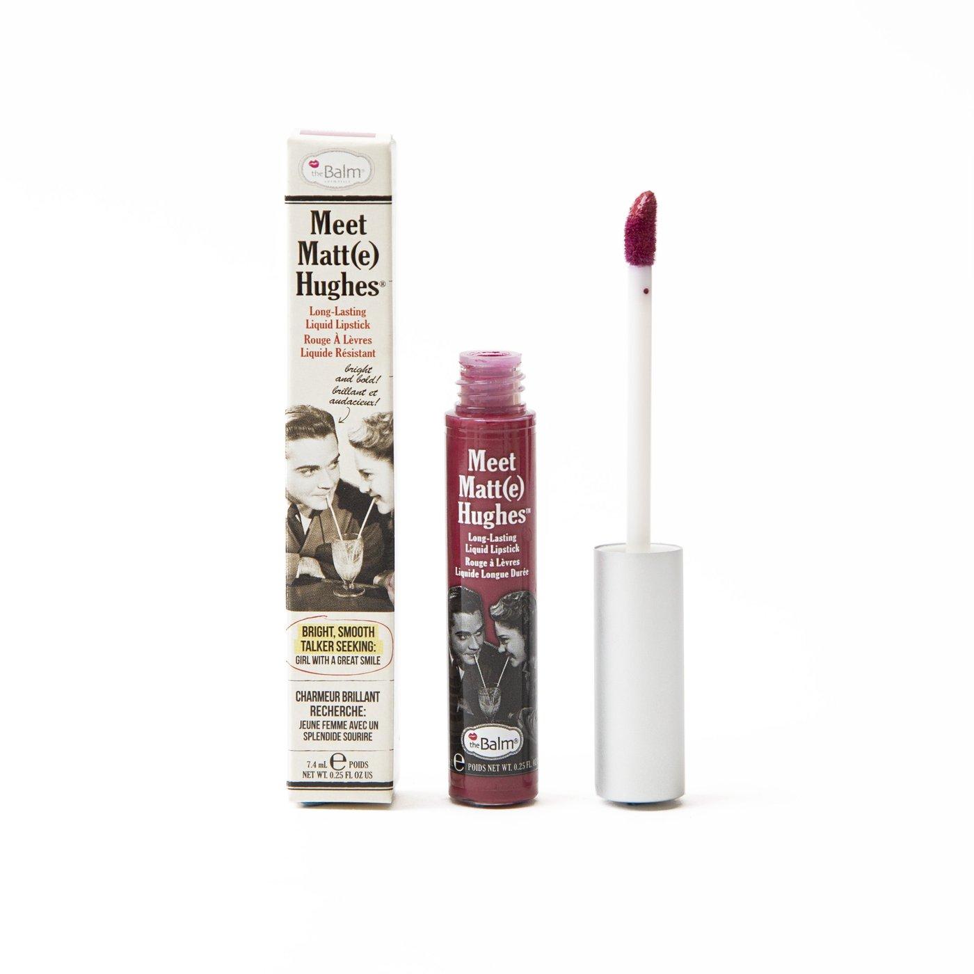 Meet Matte Hughes Long Lasting Liquid Lipstick - Dedicated