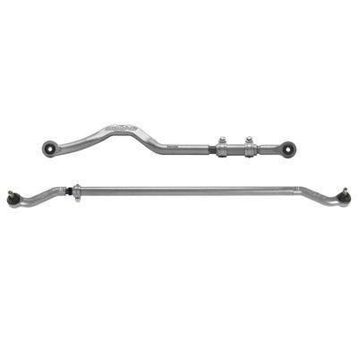 Rubicon Express Front Forged Track Bar and HD Tie Rod with Forged Ends - JKHD1