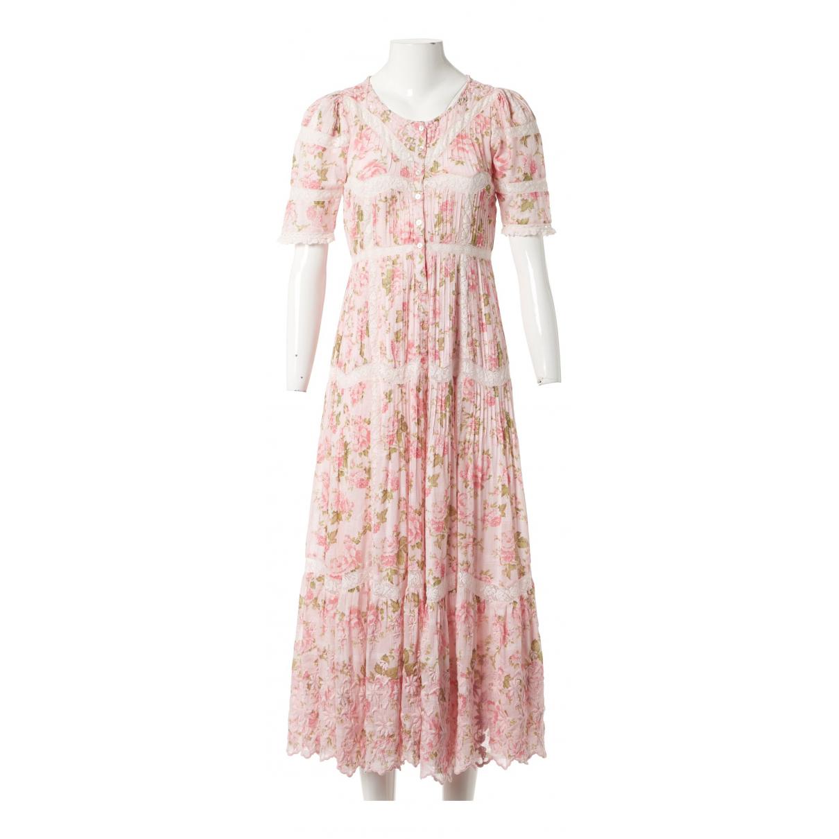 Love Shack Fancy - Robe   pour femme en coton - rose