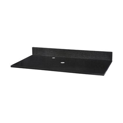 GRVT490BK Stone Top - 49-inch for Vessel Sink  in Black