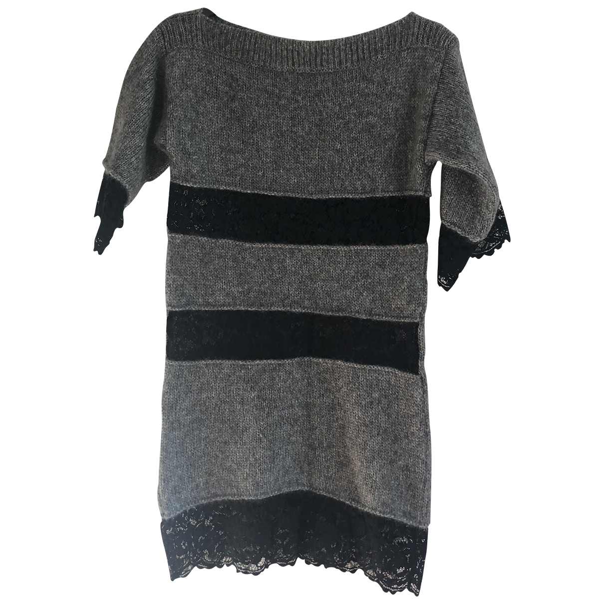D&g \N Grey Wool Knitwear for Women 38 IT