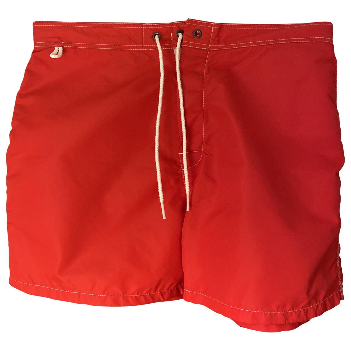 Sundek N Red Cotton - elasthane Swimwear for Men 32 UK - US