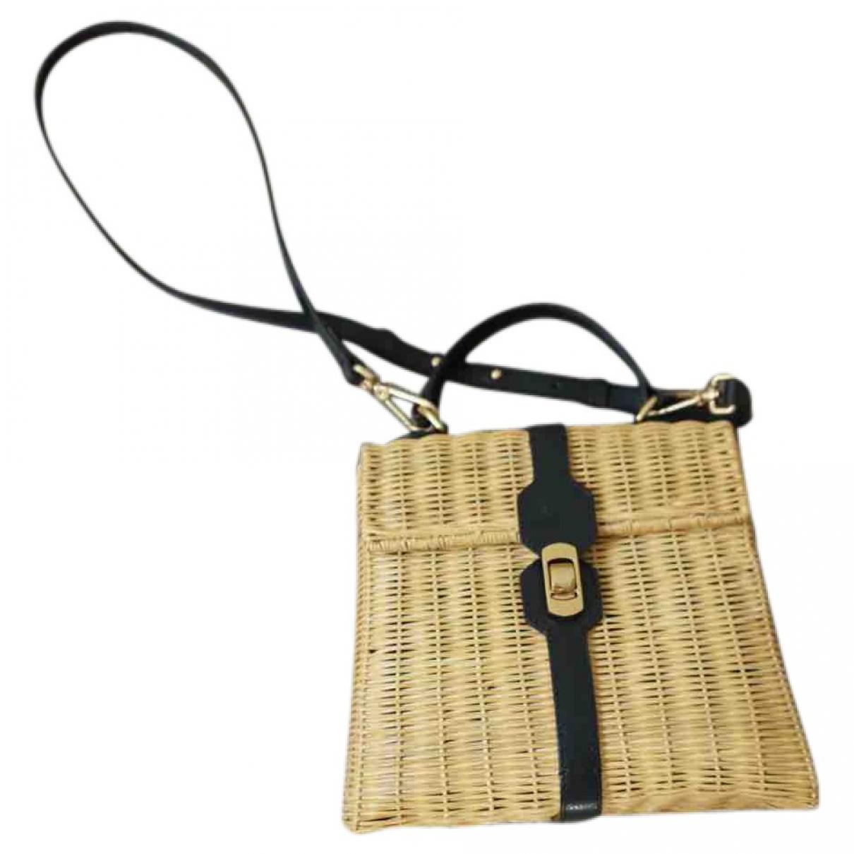 Coccinelle \N Beige Wicker handbag for Women \N