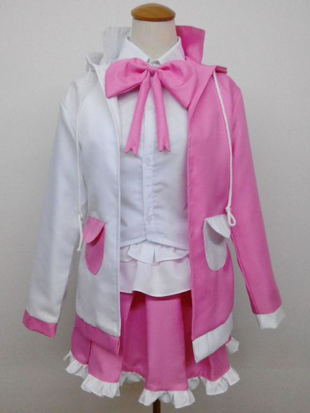 Milanoo Danganronpa Monomi Usami Cosplay Costume Human Girl Version Halloween