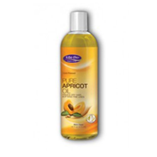 Pure Apricot Oil 16 oz by Life-Flo