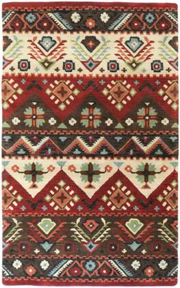Dream DST-381 5' x 8' Rectangle Rustic Rug in
