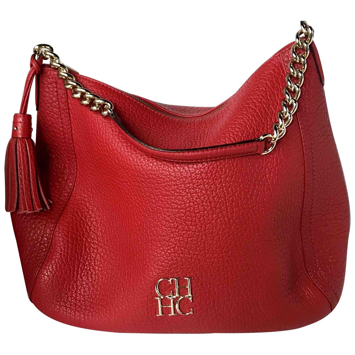 Carolina Herrera \N Red Leather handbag for Women \N