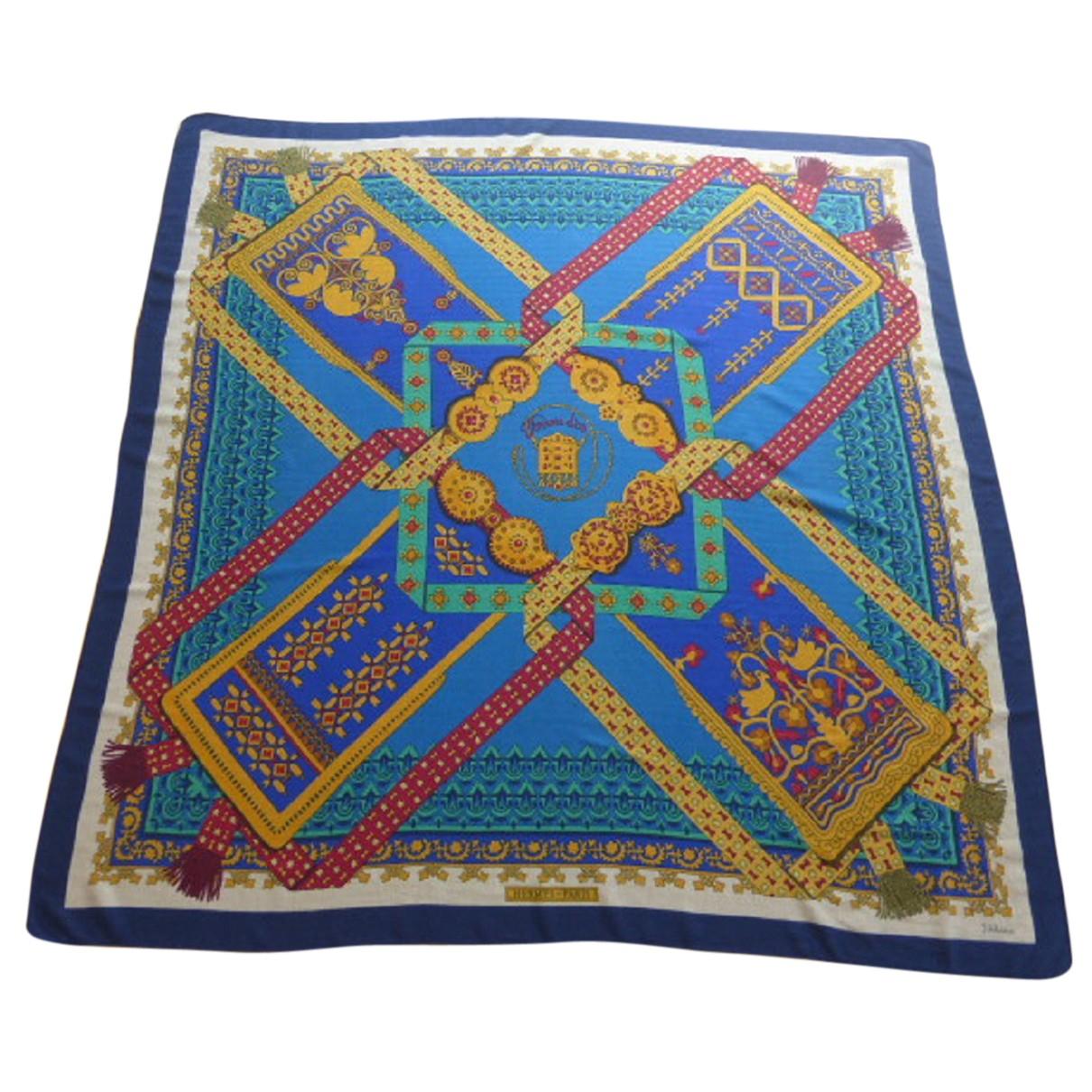 Pañuelo Chale 140 de Cachemira Hermes