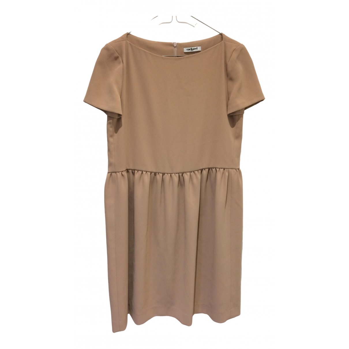 Cacharel \N Kleid in  Beige Viskose