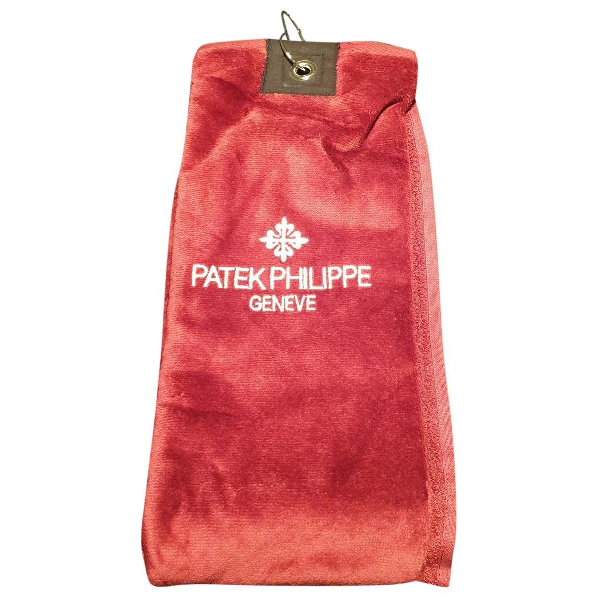 Patek Philippe - Golf   pour lifestyle en coton - bordeaux