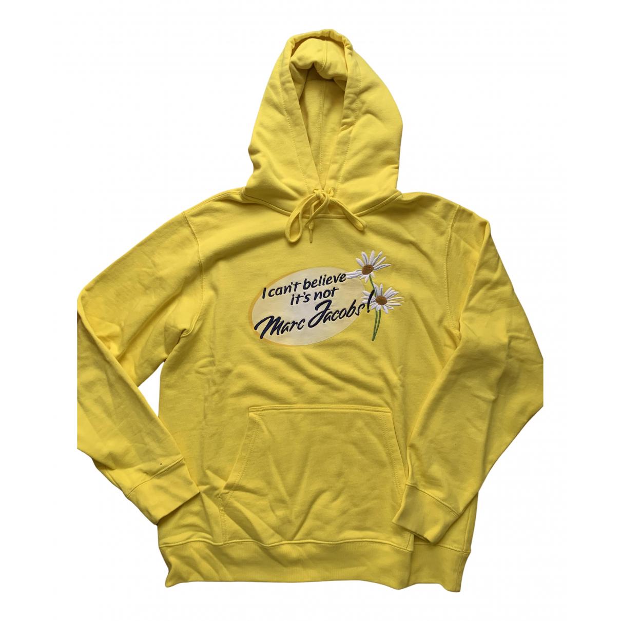 Marc Jacobs \N Pullover.Westen.Sweatshirts  in  Gelb Baumwolle