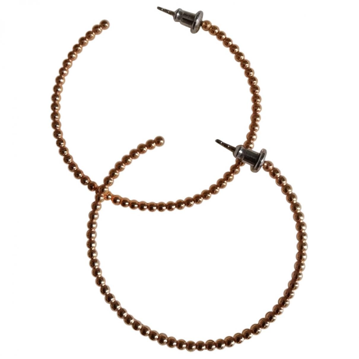 Fossil - Boucles doreilles   pour femme en metal - dore