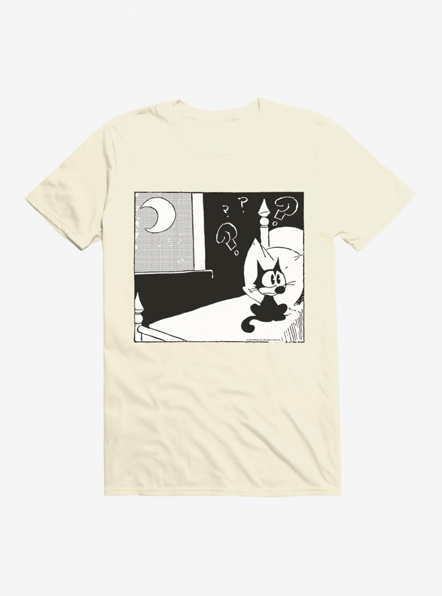 Felix The Cat Confused Of The Dark T-Shirt