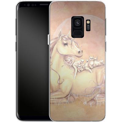 Samsung Galaxy S9 Silikon Handyhuelle - Purrfect Friends von Selina Fenech