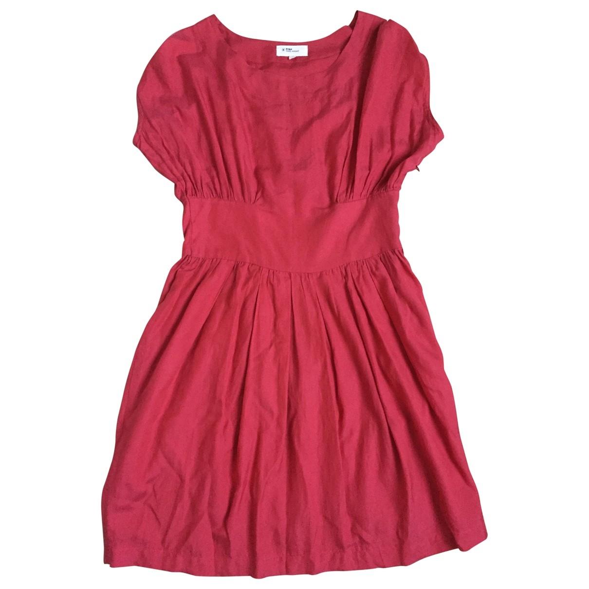 Isabel Marant Etoile - Robe   pour femme en coton - rouge