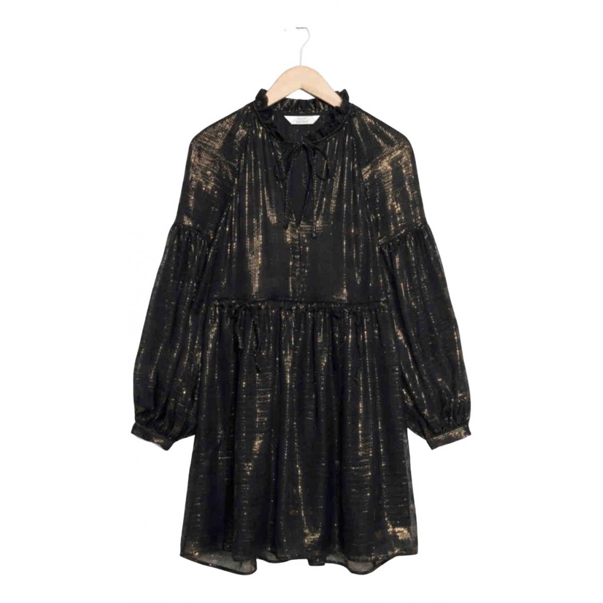 & Stories \N Black Silk dress for Women 36 FR