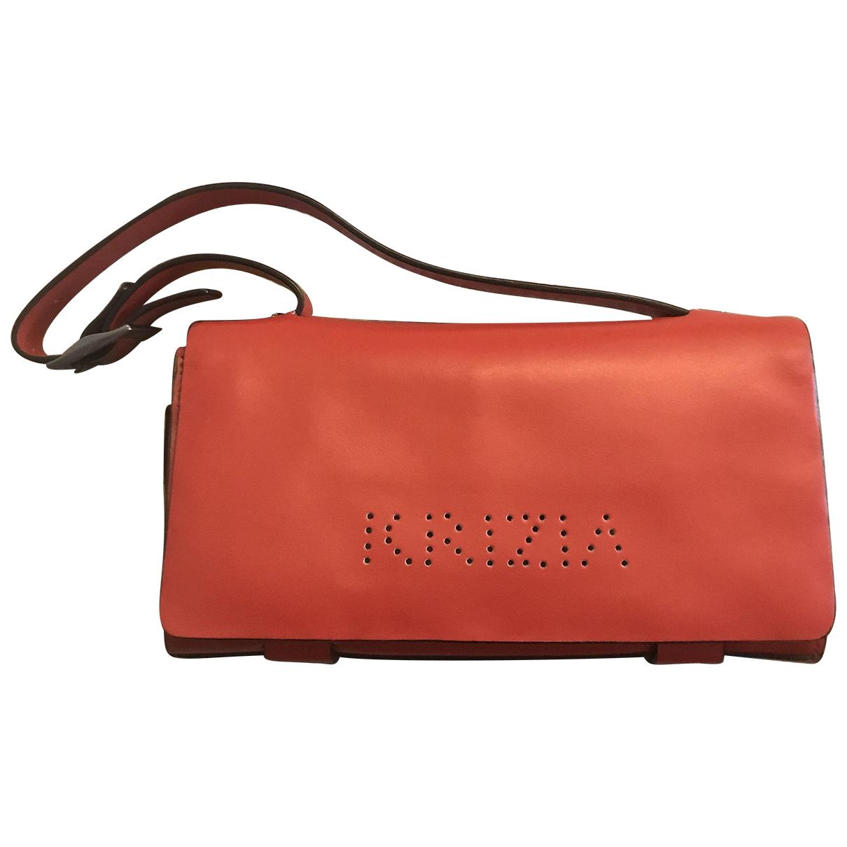 Krizia N Red Clutch bag for Women N