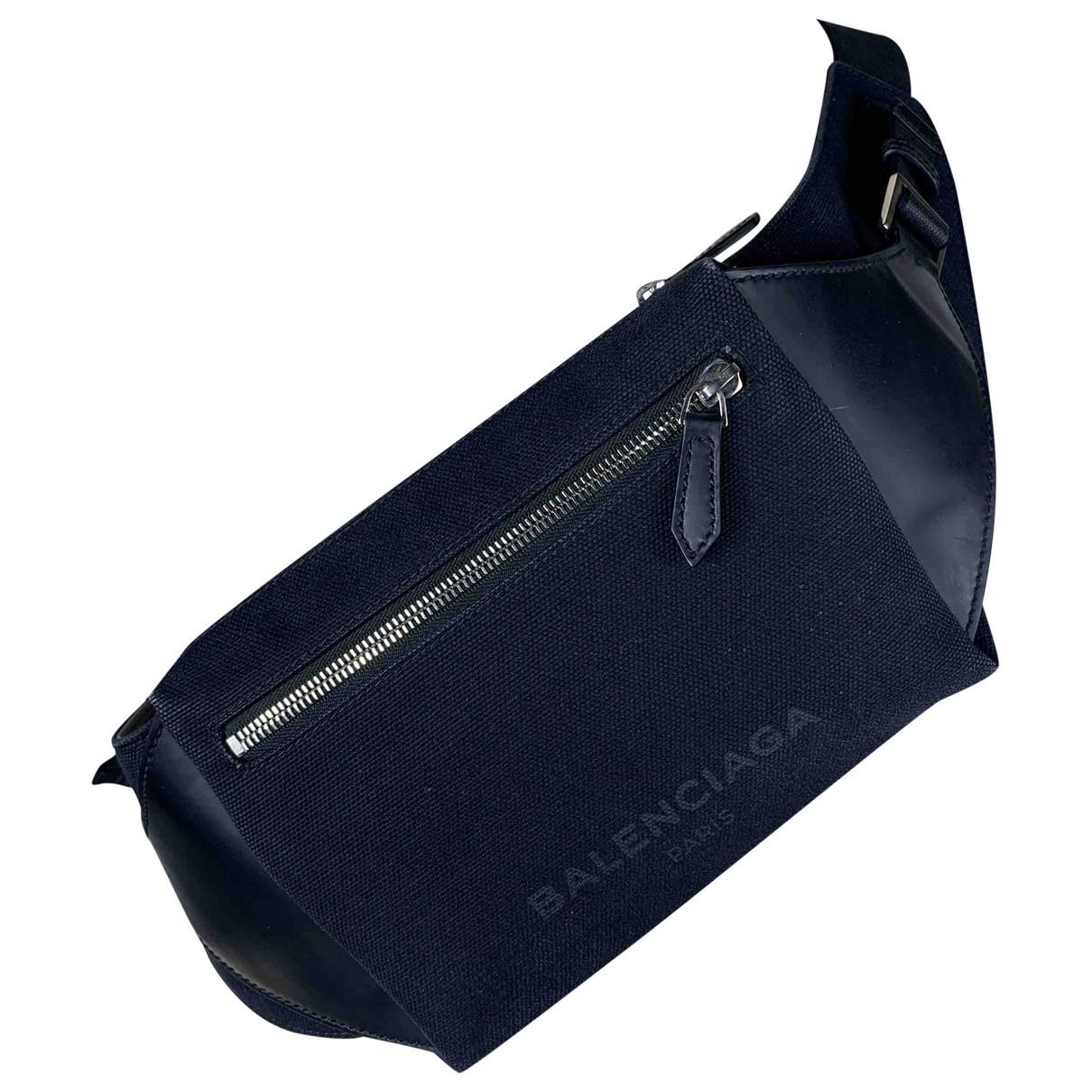 Balenciaga \N Black Cloth bag for Men \N