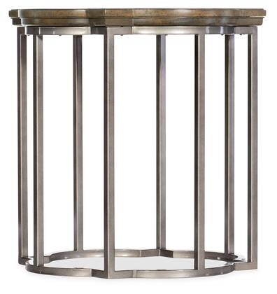 6102-80114-80 Montebello Round End Table  in Medium